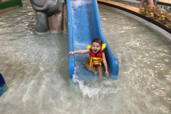 Enaiya Swimming